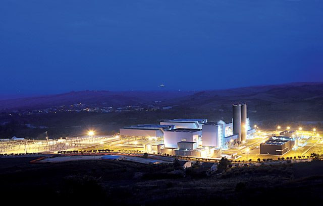 Gissi. Thermoelectric Power Station.