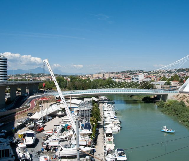 "Pescara. ""Ennio Flaiano"" Bridge."