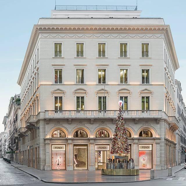 Roma. Palazzo Fendi.